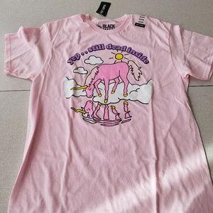 💜2/20 NWT Sad unicorn tee